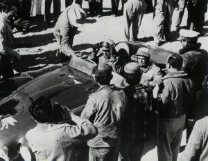 Piero Taruffi alla Carrera Mexicana 1953