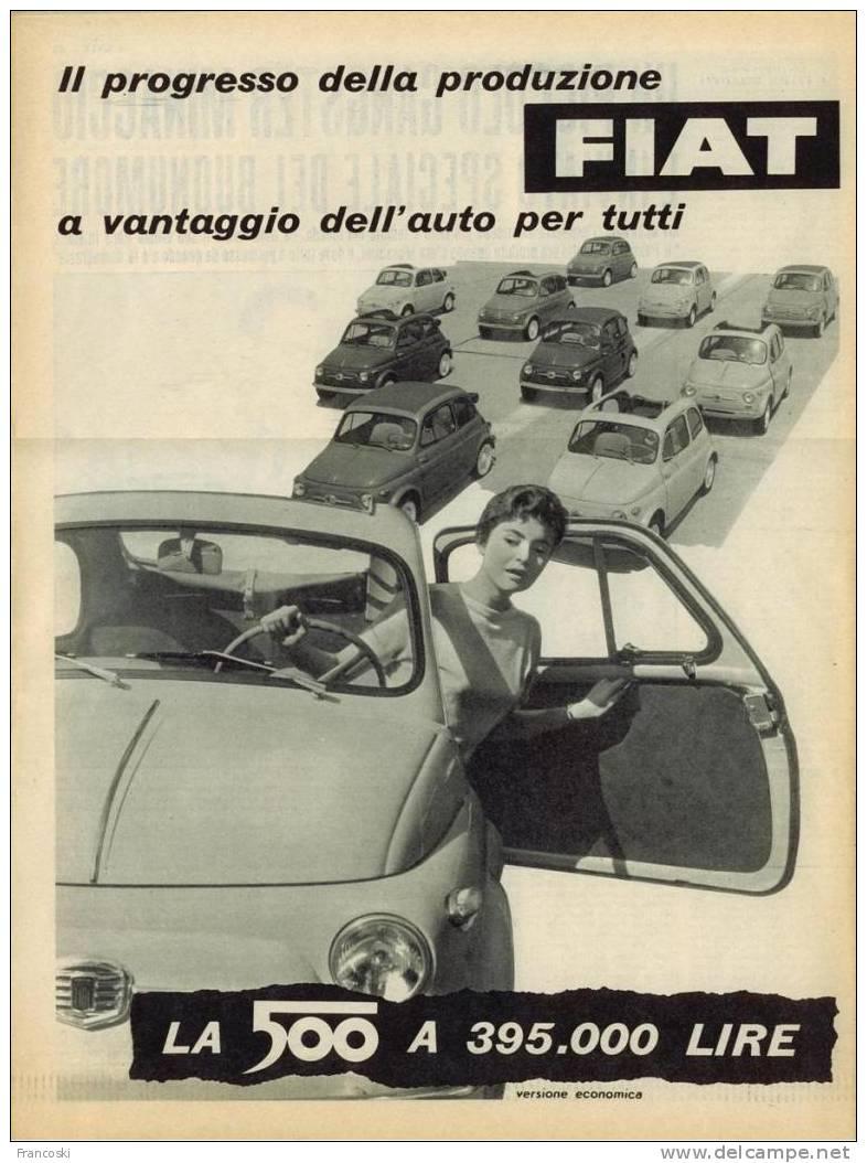 Mostra Sessanta Anni Di Fiat 500 26 Agosto 3 Settembre